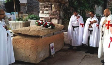 Following the Templars in Verona